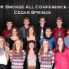 2013 OK Bronze Fall All Conference Athletes: