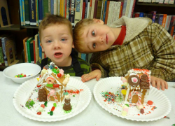 Gingerbread houses a hit