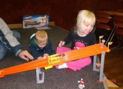 Kids enjoy Sand Lake fun