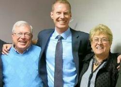 Congratulations Dave, Dr. Chris, Nancy