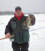 Brush, stick-ups and timber for big gills and crappie