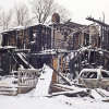 Family homeless after fire