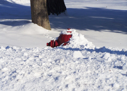 Keep sidewalks and hydrants clear of snow