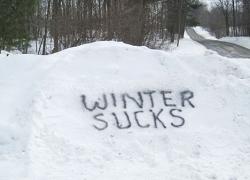 Winter, winter go away