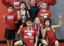 Youth wrestlers place