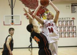 Red Hawk boys basketball ends season at districts