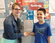 CTA 5th Grader Wins National Award