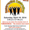 Don't miss Resurrection Celebration 2014