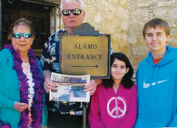 The Post goes to the Alamo