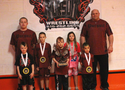Wrestlers place at nationals