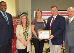 High School receives award