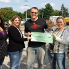 Cedar Springs Brewing donates to PTO
