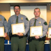 Four Michigan conservation officers honored forlifesaving efforts