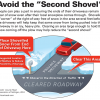 "Avoid the ""Second Shovel"""