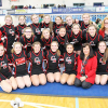 Red Hawk cheer finishes season at districts