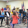 7th grade band performs