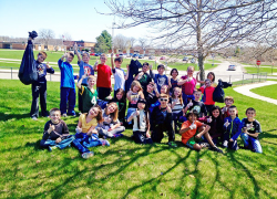 Cedar View Students Celebrate Earth Day