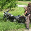 Motorcycle accident sends one to hospital