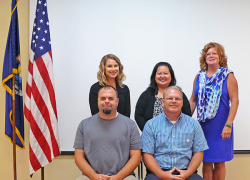 New Staff meets with Superintendent VanDuyn