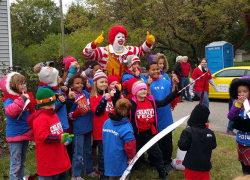 Chargers Show School Spirit at Walk and Festival