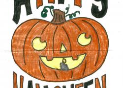 Halloween Coloring Contest 2015 winners