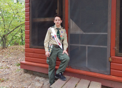 Eagle Scout project renovates cabins