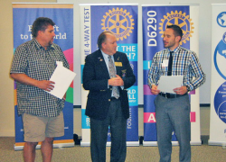 Rotary hosts District Governor