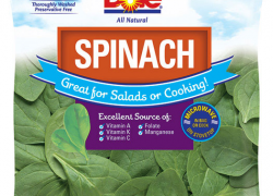 Dole recalls some spinach