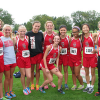 Girls Cross Country team has unity