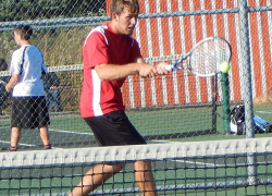Tennis ends season with conference and regionals