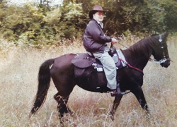 Horseback riding helps man with COPD