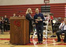 Teacher of the year finalist recognized