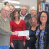 Library building fund receives grant