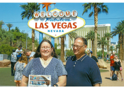 The Post travels to Las Vegas