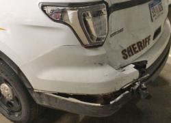 Montcalm Sheriff vehicle hit