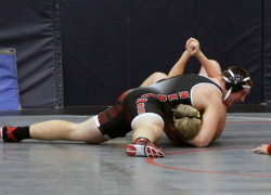 Red Hawk wrestlers place third at Tri County