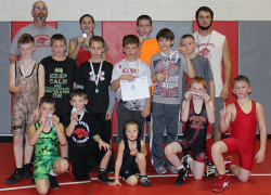 Youth wrestlers take home medals