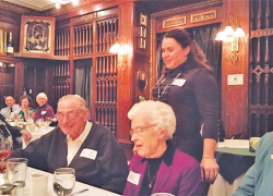 Jack and Marge Clark honored at Rotary meeting