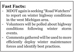 MDOT looking for West Michigan road watchers