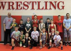 Cedar Springs Youth wrestlers take home medals