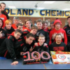 Red Hawks split tri; Ringler earns 100th win at Midland