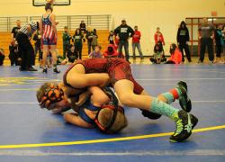WMP wrestlers take top four spots