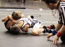 WMP wrestlers earn top spots
