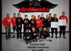 Red Hawks take 7th at Grandville, 3rd at Allendale
