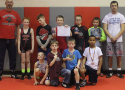 Youth wrestlers place at GVSU