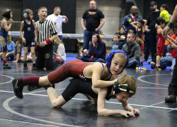 WMP wrestlers bring home medals