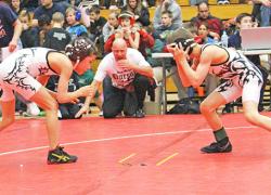 WMP wrestlers battle in finals