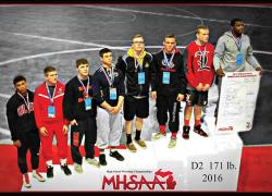 Varsity wrestlers earn all-state titles