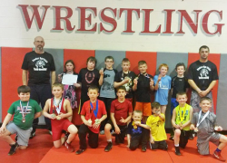 Youth wrestlers earn medals