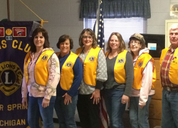 Lions Club inducts new members